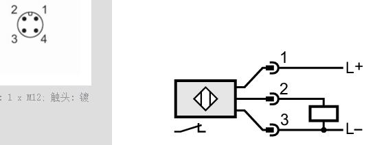 ifm全金属磁性传感器mgs206详解
