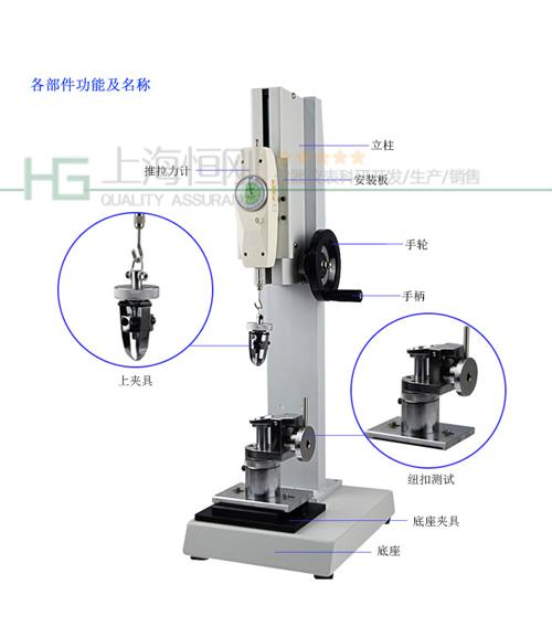 SGNL塑胶四合扣抗拉力检测仪图片