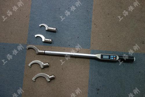 数显式扭力扳手手动工具图片(可配勾型头)