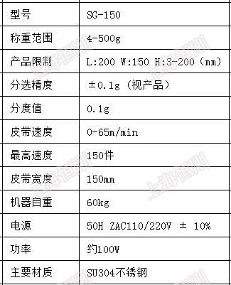重量检测动态秤